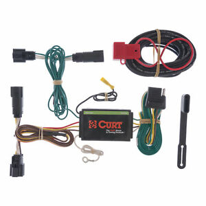 Curt Custom Vehicle To Trailer Wiring Harness 56120 For 2011 2014 Ford Edge