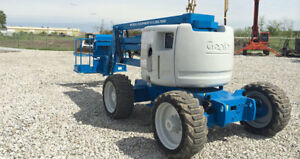 2005 Genie Z 45 25 Ic Boom Man Lift Diesel 2411 Hours Well Maintained Michigan