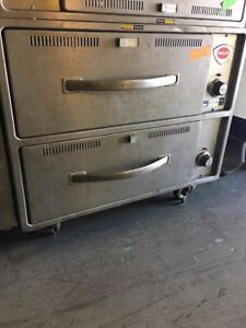 Chip Warmer 2 Drawers wells