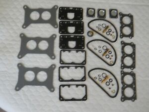 Holley ford Carb Rebuild Kit For Three Deuces Three Carbs