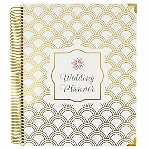 Bloom Daily Planners Planners Undated Wedding Hard Cover Day Organizer 9 11