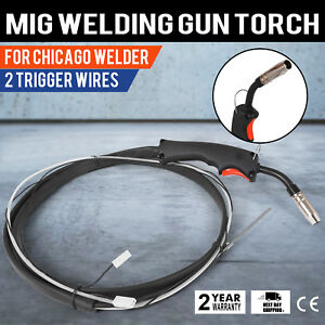9 2ft Tweco Chicago Electric Welder Clark Mig Gun Torch Stinger Replacement A90