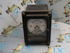 General Electric 700x64g302 Type Dsm 63 Kilowatt Hour Meter Broken 1