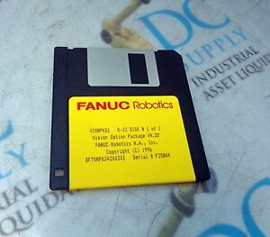 Fanuc Visnpkg1 Vision Option Package Rj2 Disk