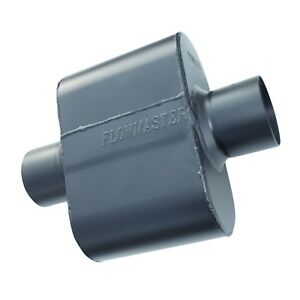 Flowmaster 843015 Super 10 Series Stainless Muffler 3 Inch Inlet Outlet