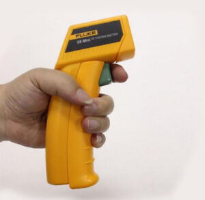Brand New Fluke 59 Mini Handheld Laser Infrared Thermometer Gun