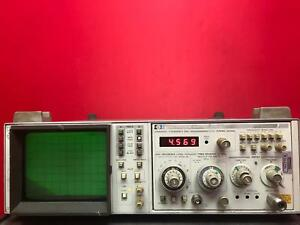 Hp Agilent Keysight 853a Spectrum Analyzer Display