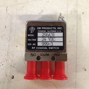 Db Products 2s6a31 Spdt Sma Failsafe Rf Coaxial Switch