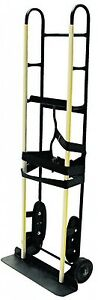 Appliance Hand Truck Dolly Milwaukee Furniture Steel 800 Lb Stair Climber Belts