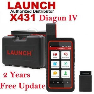 Launch X431 Diagun Iv Obd2 Code Scanner Diagnostic Tool With 2 Years Free Update