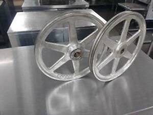 Used Pulley Latch Wheels For Hobart 5801 Meat Saws