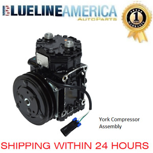 New Ac York Compressor 0073 Fit Abpn83304141t Freightliner York 210 Wz Clutch