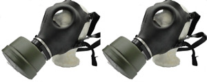 2 Pack Israeli Gas Mask Military Sealed Nato Filter Full Nbc Protection Bong New