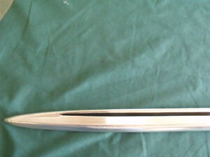 Nos 1963 Ford Galaxie 500 Xl L H Lower Door Moulding