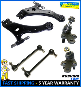 Brand New 6 Pc Complete Front Suspension Kit For Toyota Camry Lexus Es Rx Avalon