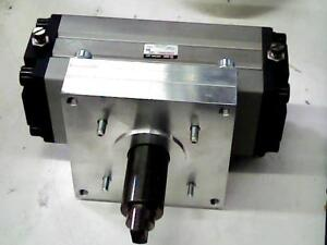 Smc Pneumatic Rotary Actuator Cylinder Double Shaft 63mm Ecra1bw63 180c