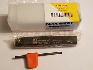 New Kennametal Sclcrf103b Tool Holder For 80 Carbide Inserts 750 Shank
