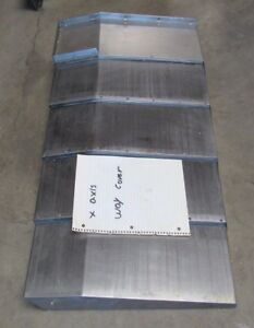X Axis Way Cover Approx 35 X 18 From Kitamura Mycenter H400 see Pics