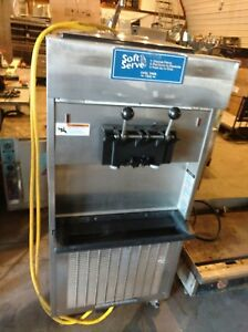 Electro Freeze 66tf 232 Soft Serve Ice Cream Machine Twin Twist Excellent Cond