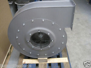 High Pressure Centrifugal Fan Blower 7200m3 hr 4000pa 7 5kw 3 Phase Extractor
