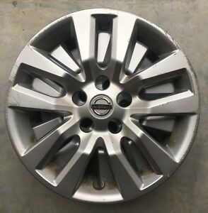 2010 2016 Nissan Altima 16 Oem Silver Hubcaps Complete Set Of 4 40315 3tm0b