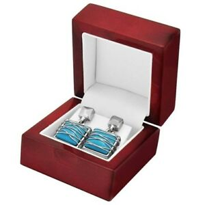 12 Rosewood Earring Boxes Jewelry Display Gift Boxes Earring Packaging Boxes