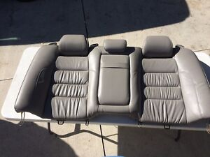 98 05 Lexus Gs300 Gs400 Gs430 Rear Seat Cushion Upper With Headrests