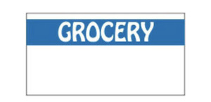 Monarch 1110 Grocery Blue White Price Gun Labels Free Shipping 1062 Total Lbls
