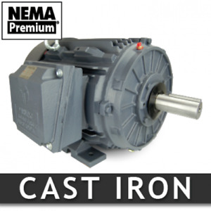 7 5 Hp Electric Motor 254t 1200 Rpm 3 Phase Severe Duty Nema Premium Cast Iron