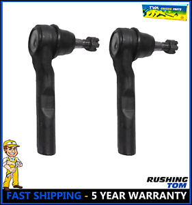 2 Front Outer Tie Rod Left Right For Malibu G6 Aura Es800086