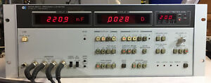 Hp Agilent 4275a Multi frequency Lcr Meter