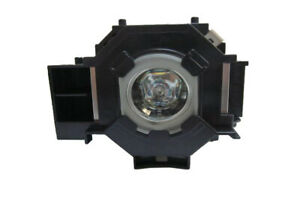 Original Equivalent Bulb In Cage Fits Epson Ex50 Projector