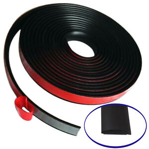 Partsman Self Adhesive Rubber Moulding 1 Wide Stripping Edging Trim 20ft
