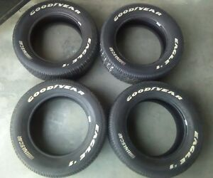 Goodyear Eagle 1 Nascar Tires 225 60 16