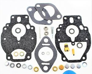 Carburetor Kit Fits Massey Ferguson Mf Tractor 65 Carburetor 12548 M76