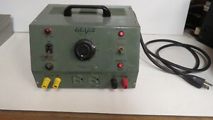 Vintage Lab volt 190 Variac Ac Dc Variable Output Bench Power Supply 6