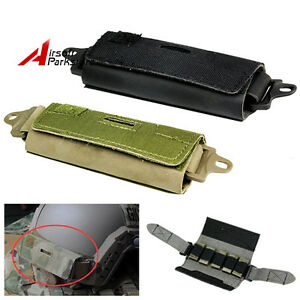 FMA Tactical Helmet Accessory Pouch Fast Rear Counterweight Bag w5 Brick Blocks
