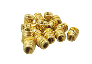 500 Pcs 8 8 32 Threaded Heat Inserts For 3d Printing Plastic Metal 8 32 long