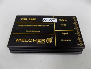 Melcher Positive Switching Regulator Psr 248e