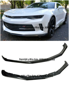 1le Track Performance Package Front Bumper Lower Lip Splitter For 16 Up Camaro
