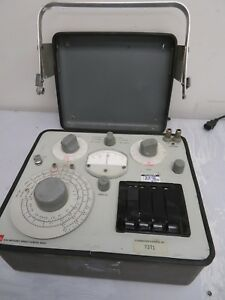 Genrad General Radio Company Type 1656 Impendence Bridge Meter Mv50