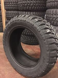 4 New Lt33 12 50 22 Crosswind Mt Tires 10 Ply 1250r22 Lt33x12 50r22 Mud