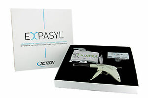 Expasyl Acteon Dental Temp Gingival Retraction Paste Standard Flavor 20 Capsules