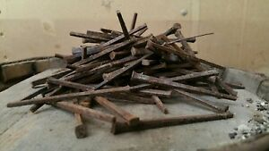 3 0 Old Square Iron Nails 1800s 100cnt