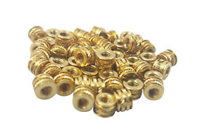 Qty 500 M3 3mm M3 0 5 Brass Threaded Metal Heat Set Screw Inserts 3d Printing