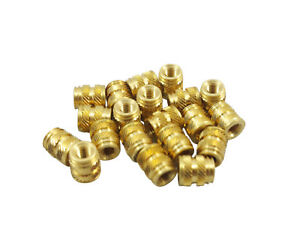 500 M3 3mm M3 0 5 Brass Threaded Metal Heat Set Screw Inserts 3d Printing Long