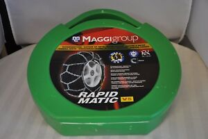 Maggi Rapid Matic V5 Snow Tire Chains Thule Brand New Size 121