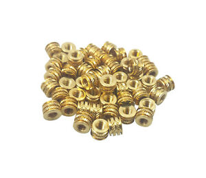 Qty 500 6 32 6 32 6 Threaded Heat Inserts 3d Printing Screw Metal 6 32 6mm