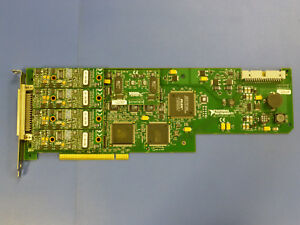National Instruments Pci 6110 Ni Daq Card 4ch 5ms sec Simultaneous Analog Input