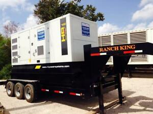 New Hipower Hrmw700 T6 Portable Diesel Generator Set 554kw 783hp 1800rpm